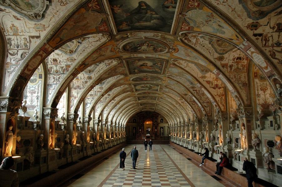 Interni della residenz di Monaco di Baviera