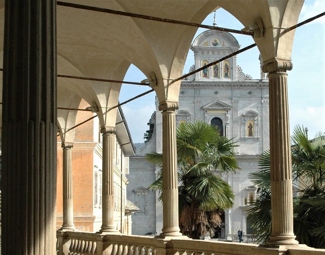La Basilica del Sacro Monte di Varallo in Valsesia
