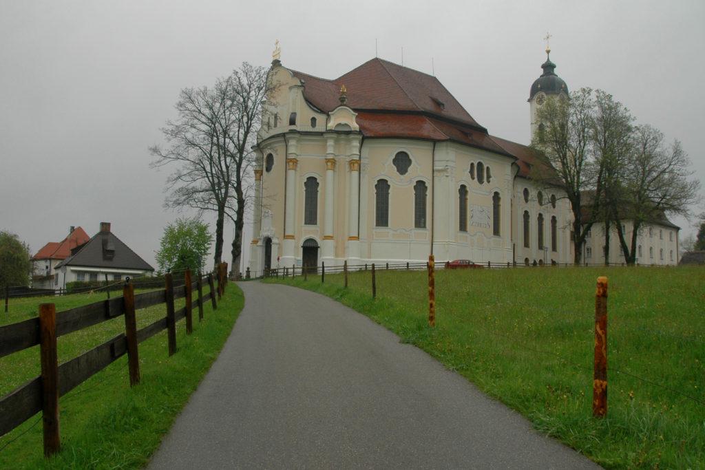 Wieskirche da vedere lungo la Strada Romantica
