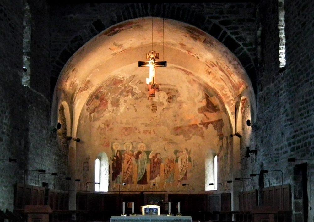 affreschi della chiesa di piona