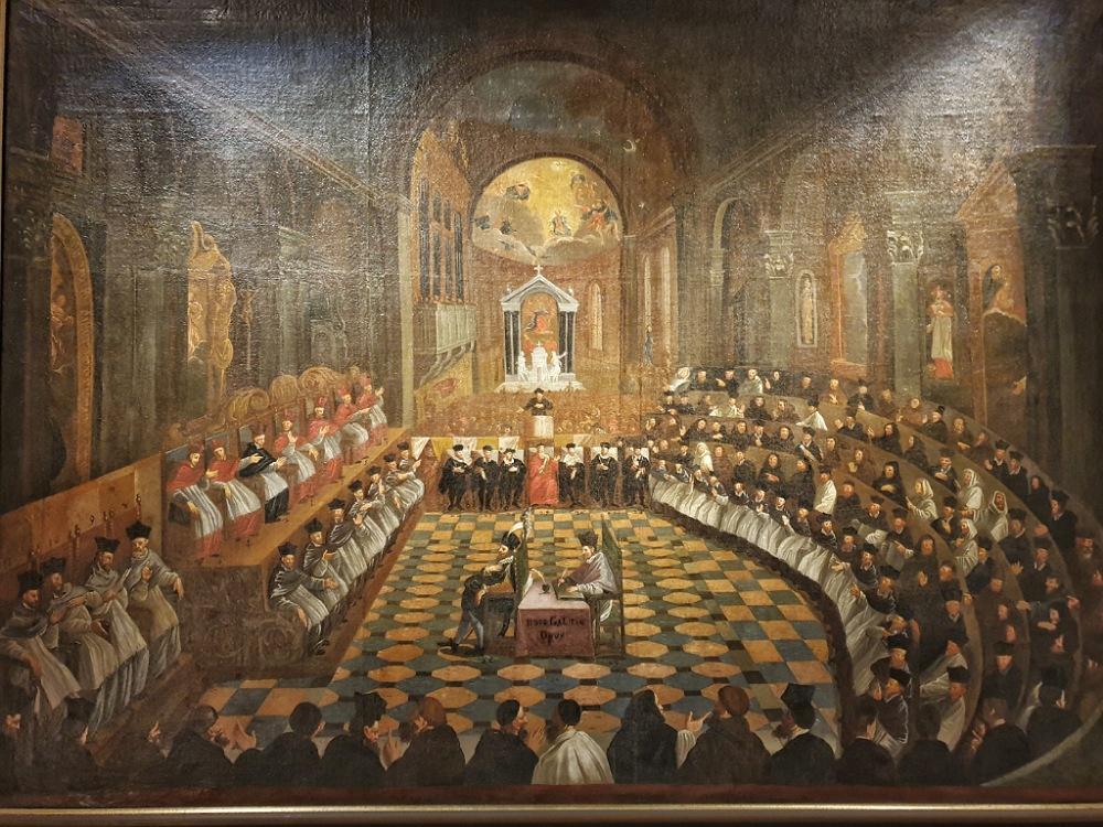 Il Concilio di Trento in una tela di Fede Galizia
