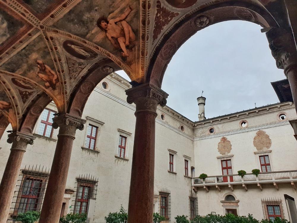 Loggia del Romanino nel Castello del Buonconsiglio di Trento