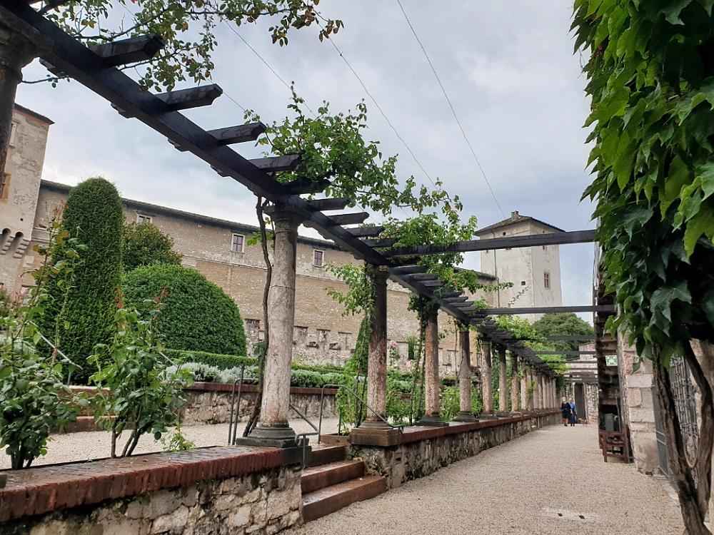 Giardini del Castello del Buonconsiglio di Trento: cosa vedere