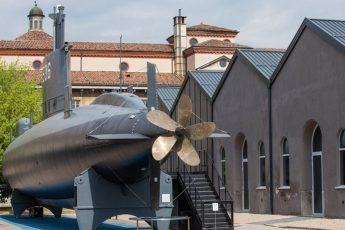 sottomarino al Museo della Scienza e della Tecnologia di Milano