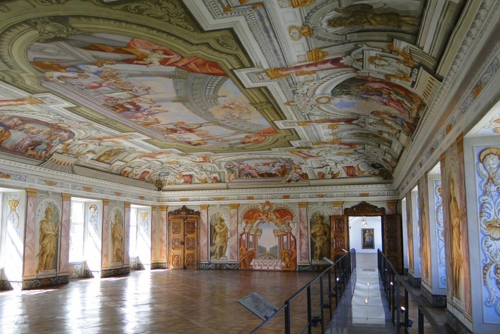 Sala dell'Imperatore nel convento di Herrenchiemsee