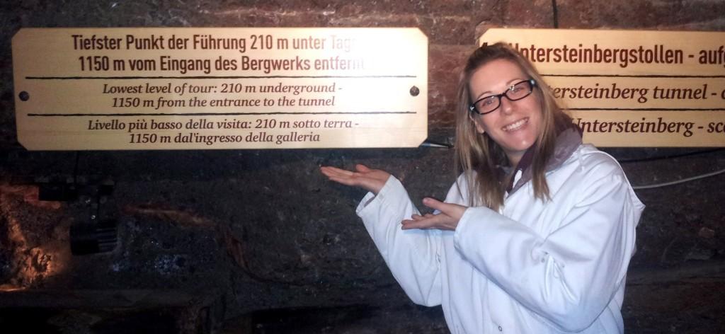 visita delle miniere sale di hallein