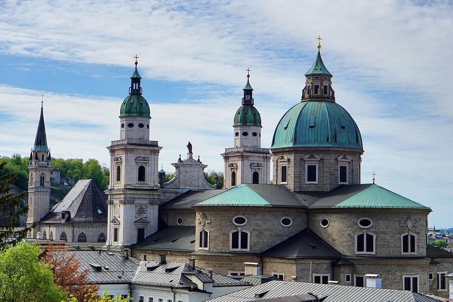 le cupole e i campanili del duomo di Salisburgo_cosa vedere in un giorno