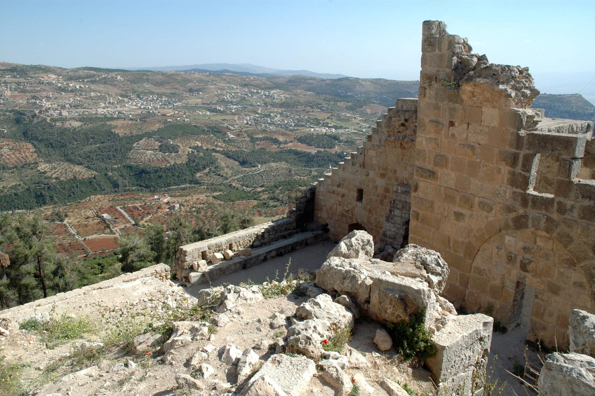 castello ajloun ajlun giordania cosa vedere