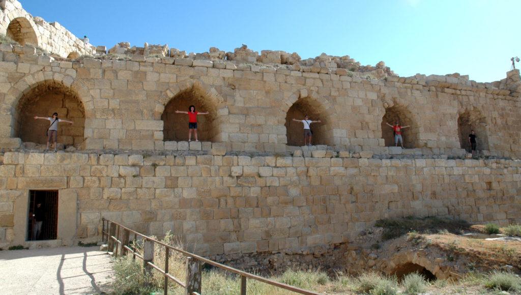 castello di karak o in giordania storia
