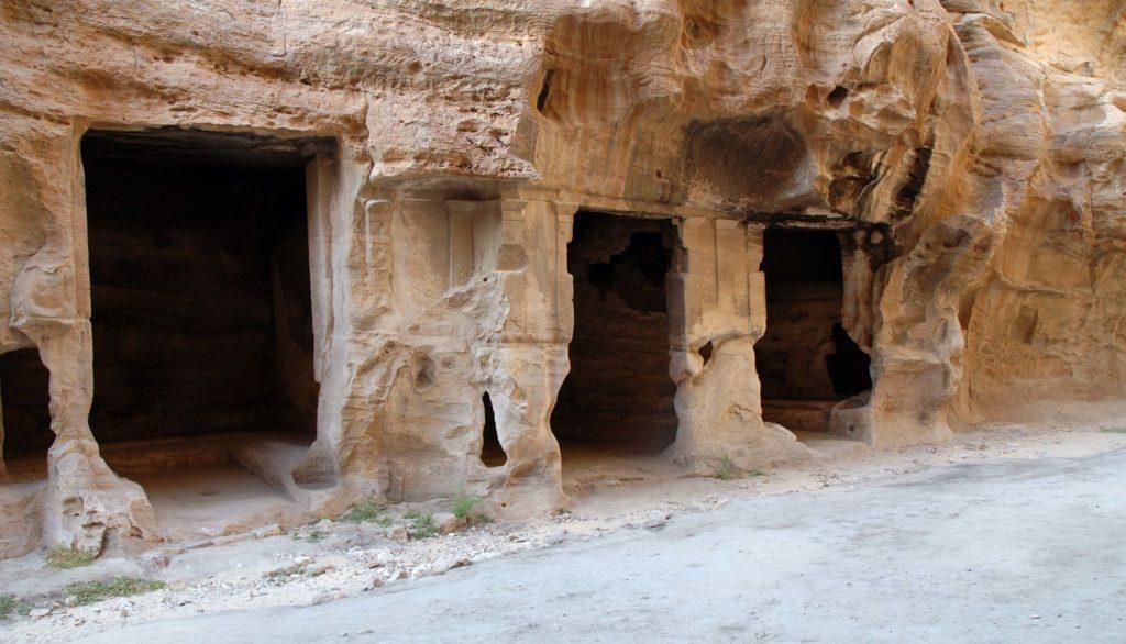 abitazioni a piccola petra giordania