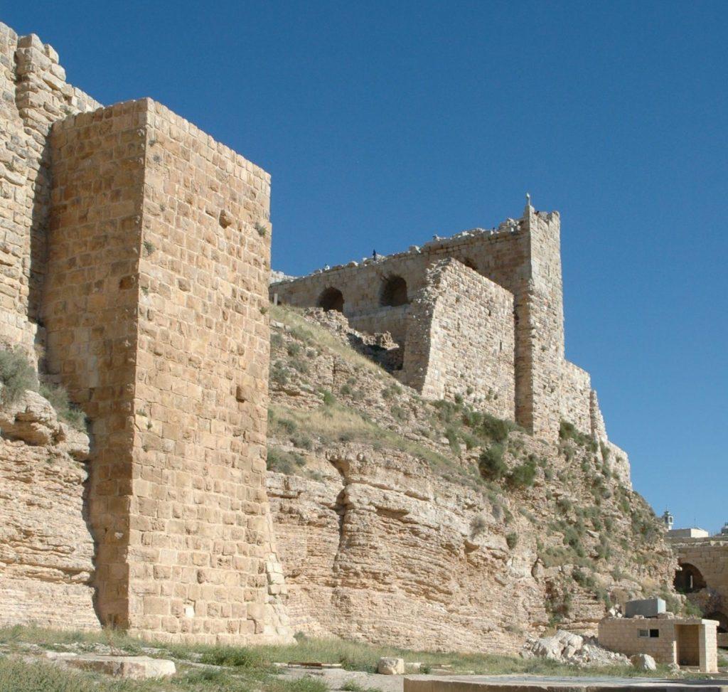 mura del castello di karak