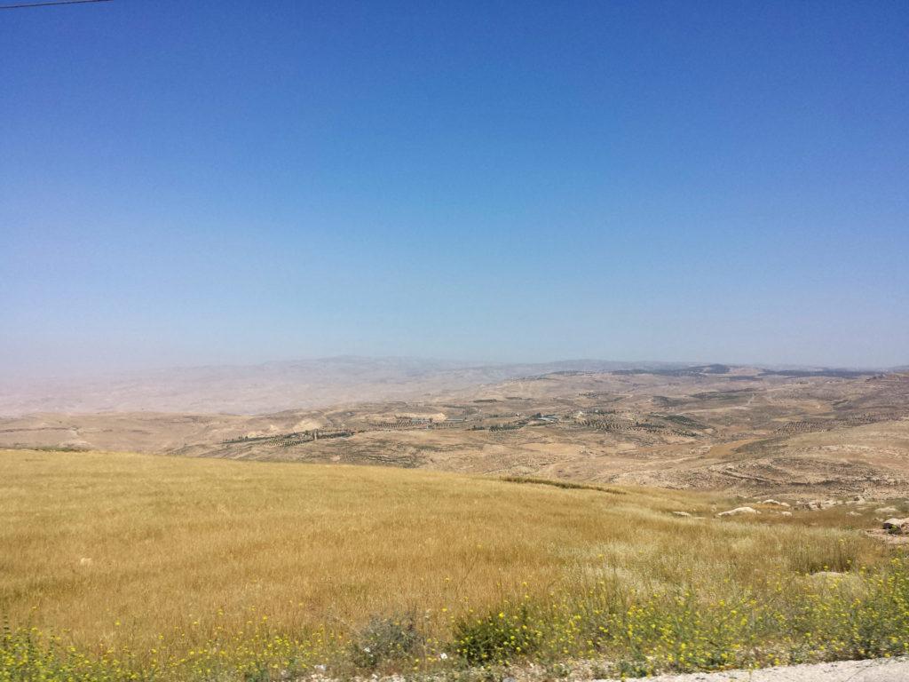 terra promessa monte nebo giordania