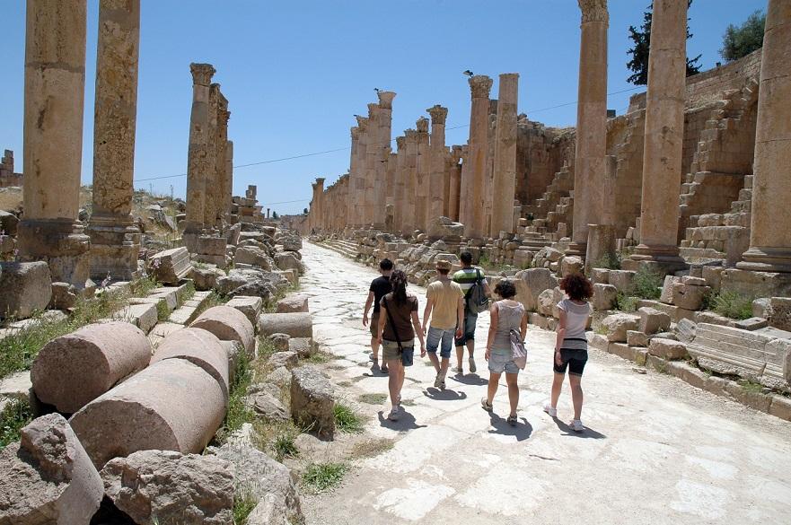 itinerario a jerash_cosa vedere_antica città romana_giordania