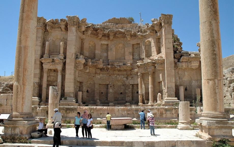ninfeo_cosa visitare a jerash_giordania