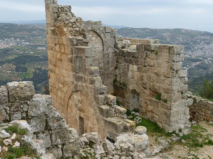 rovine_Castello di ajloun_castle_giordania