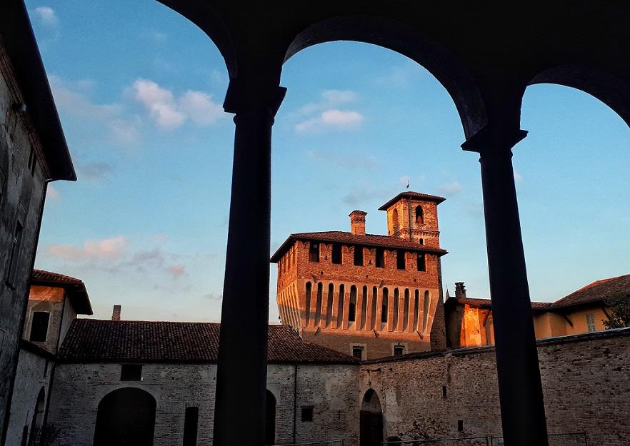loggiato del castello di pagazzano_bergamo
