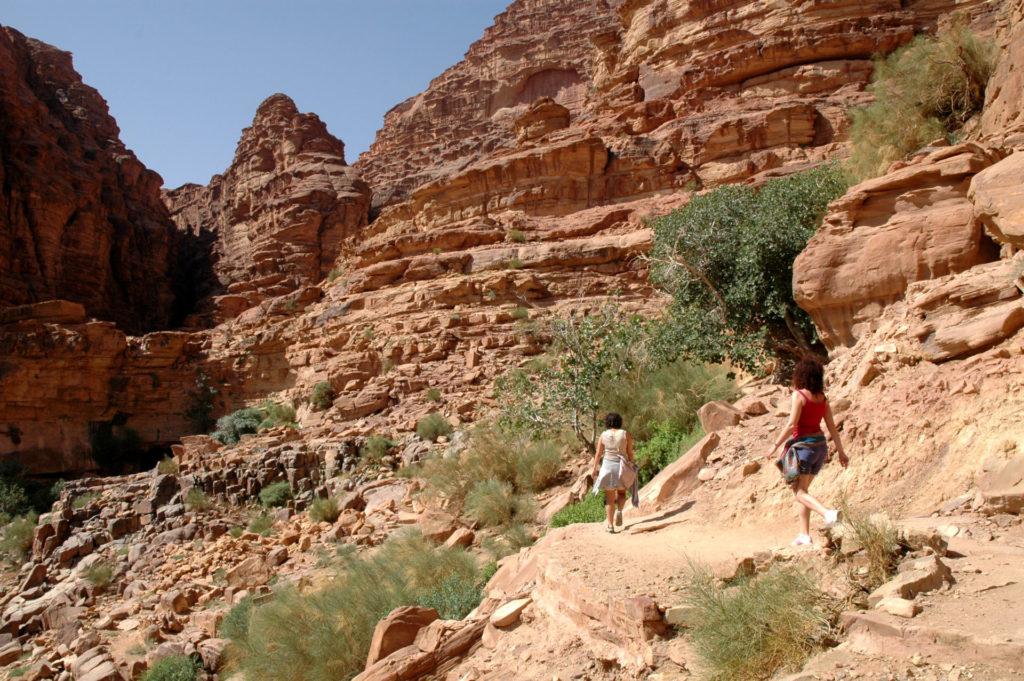 visitare il deserto del wadi rum in giordania