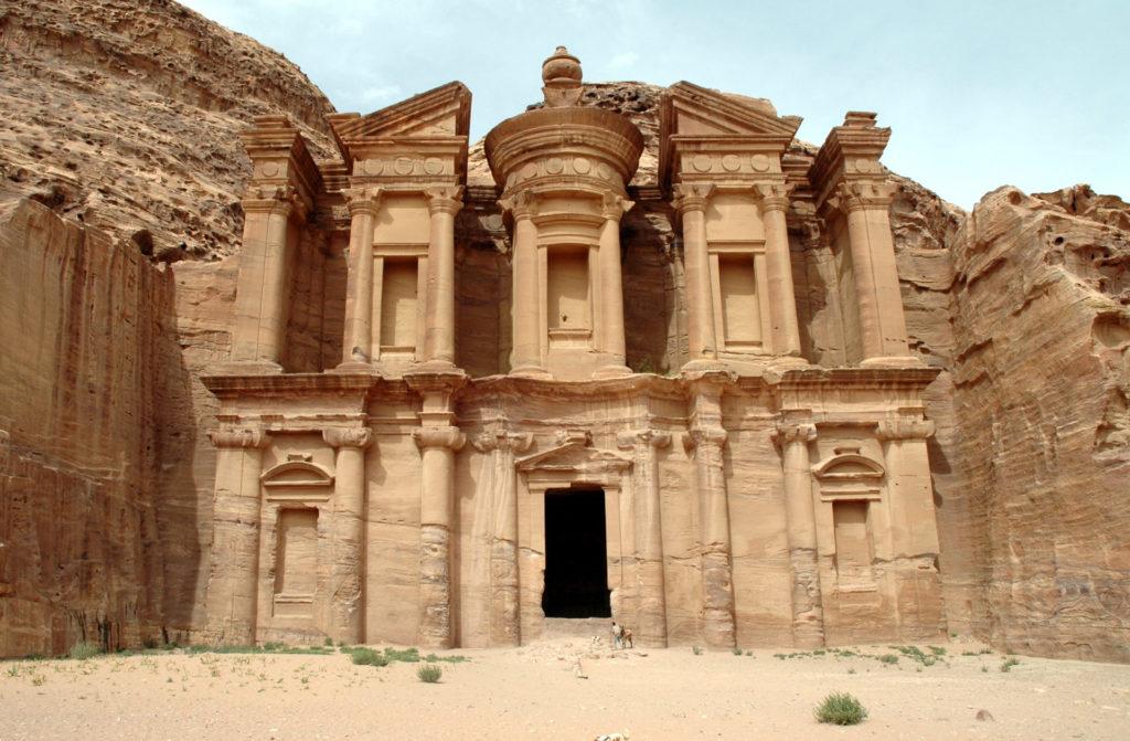 facciata monastero petra
