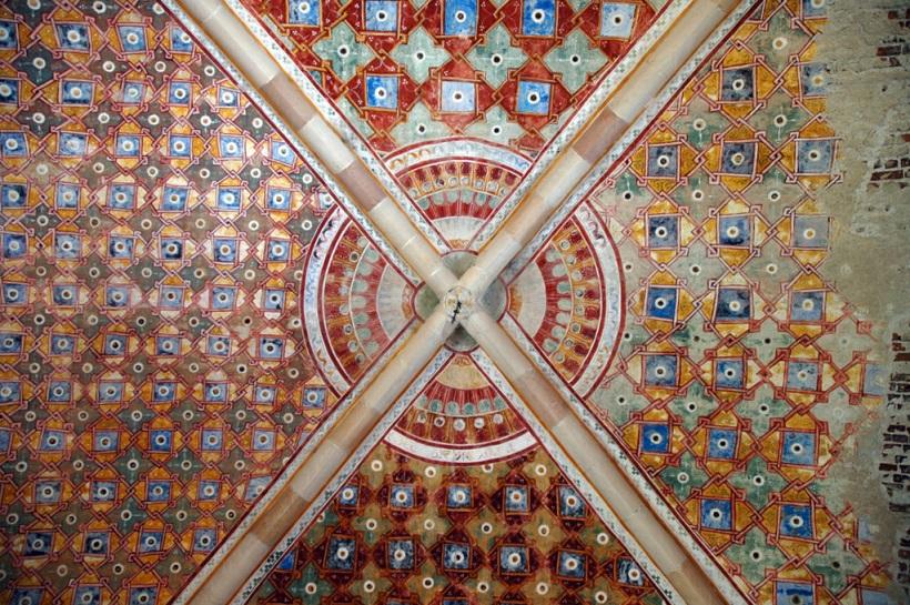 affreschi e decorazioni_interni_rocca borromeo di angera