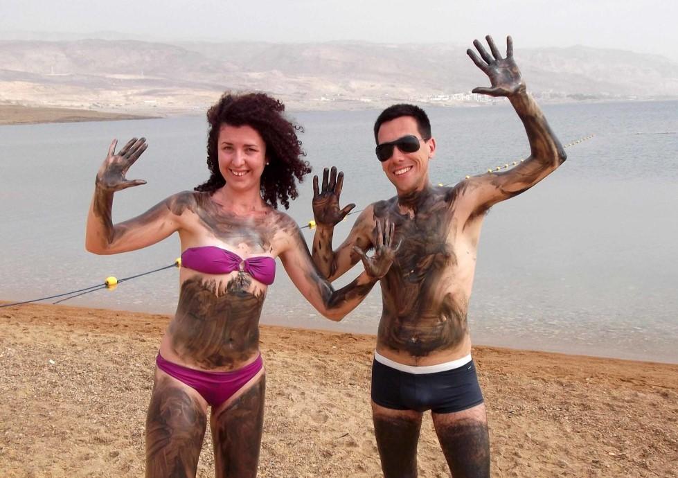 proprietà curative del Mar Morto in Giordania