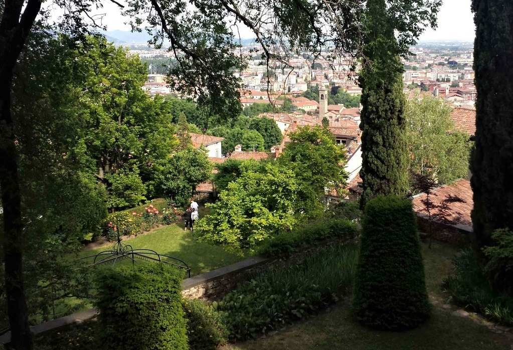 Giardini di Palazzo Moroni a Bergamo