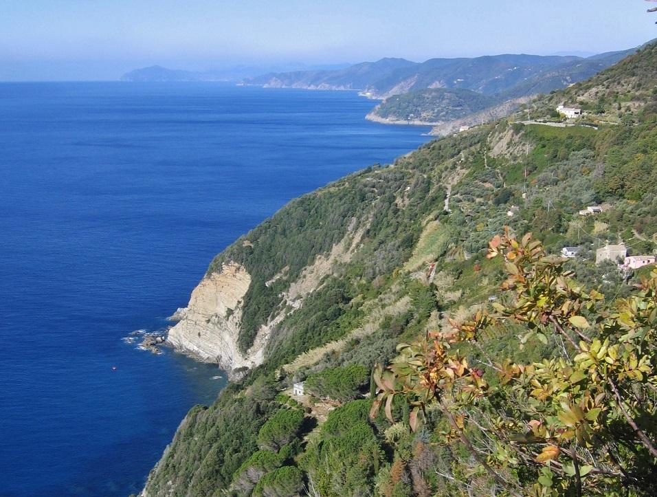 panorama da punta mesco a lerici_trekking
