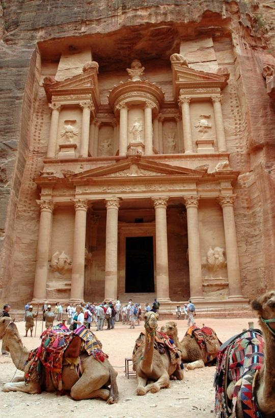 Il Tesoro di Petra in Giordania