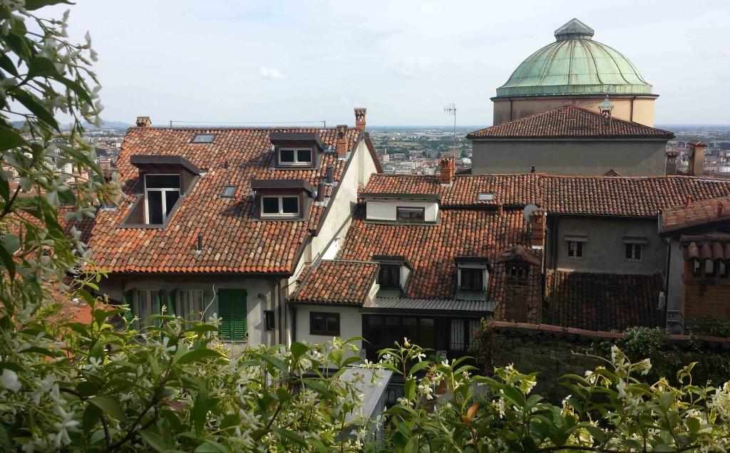 Vista panoramica dai giardini di Palazzo Moroni