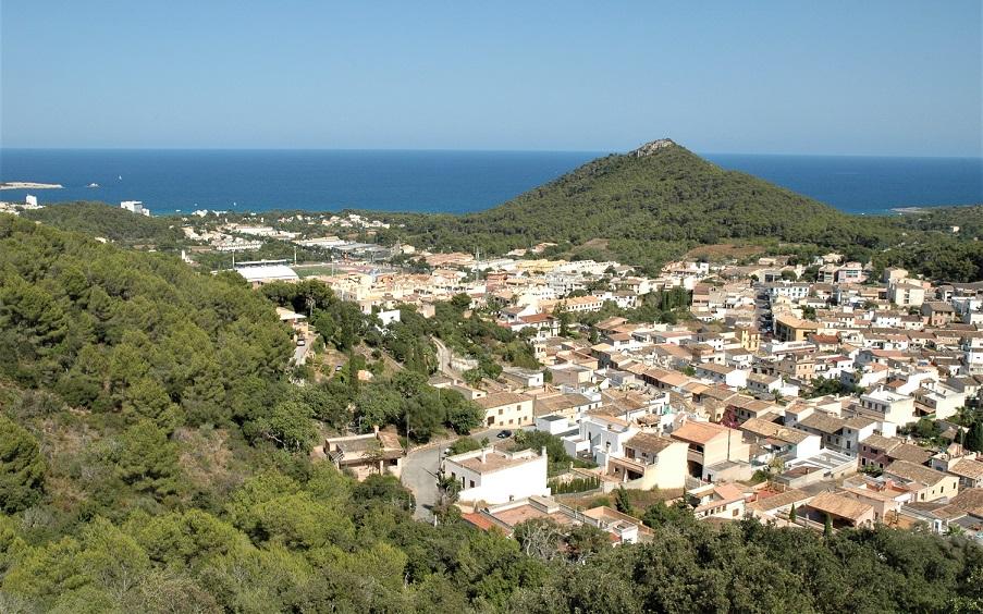 paesaggio dal castello di capdepera_maiorca e la sua costa