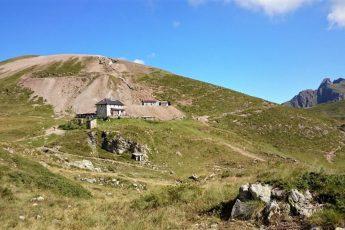 sentiero per il Rifugio Grassi da Valtorta a Bergamo