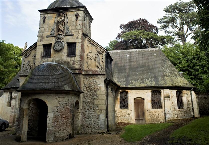 Chapelle Notre Dame de Grace_Honfleur_itinerario