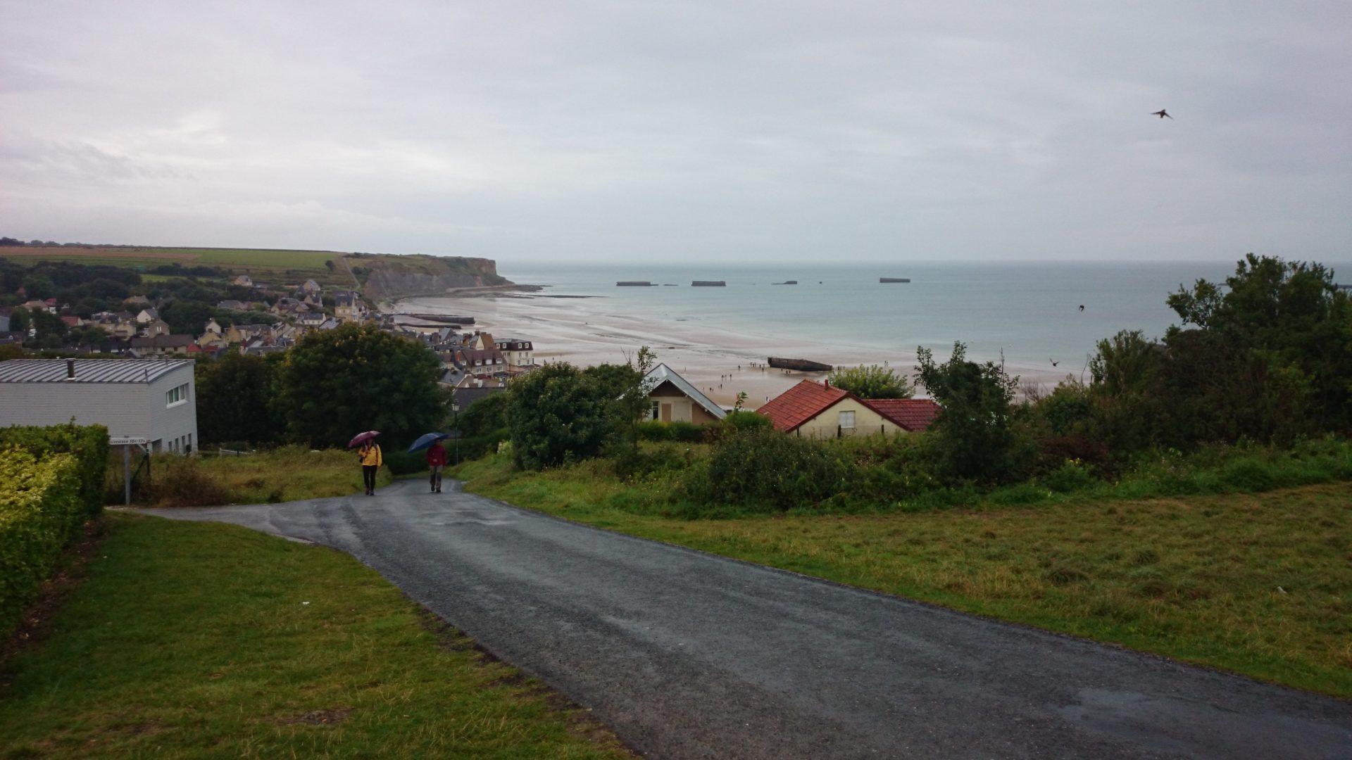 arromanches 360 villaggio spiaggia sbarco