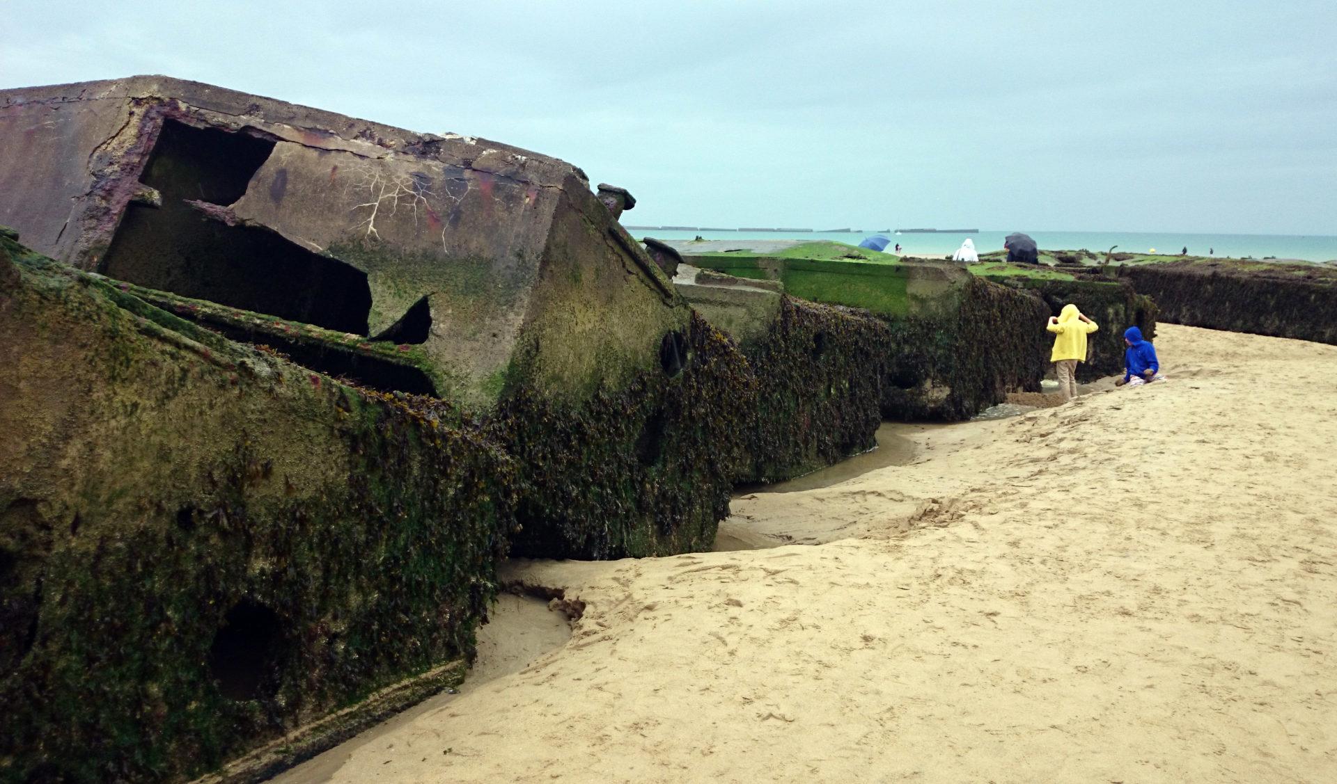 spiaggia sbarco normandia arromanches visitare