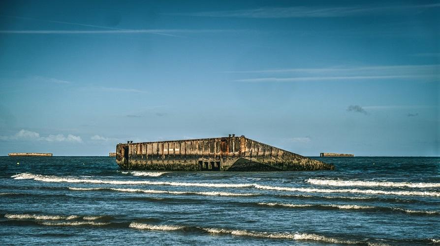 cosa vedere arromaches les bains_spiaggia sbarco normandia_d day