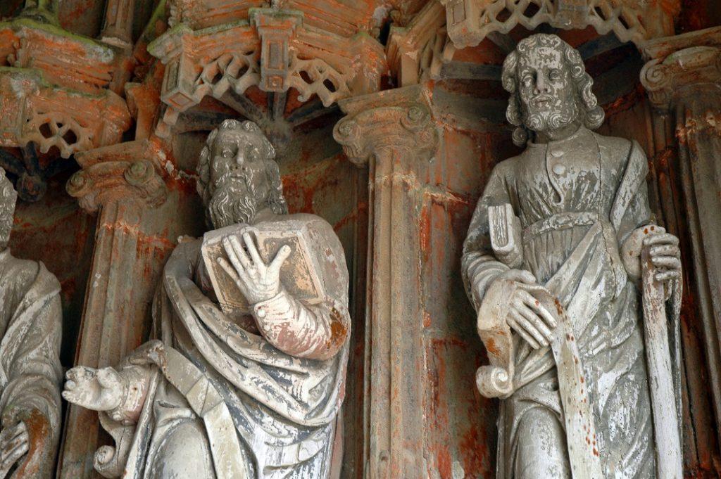 guimiliau_chiesa parrocchiale_bretagna_statue