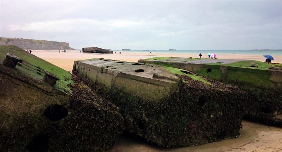 spiaggia di arromanches_sbarco in normandia_cosa vedere