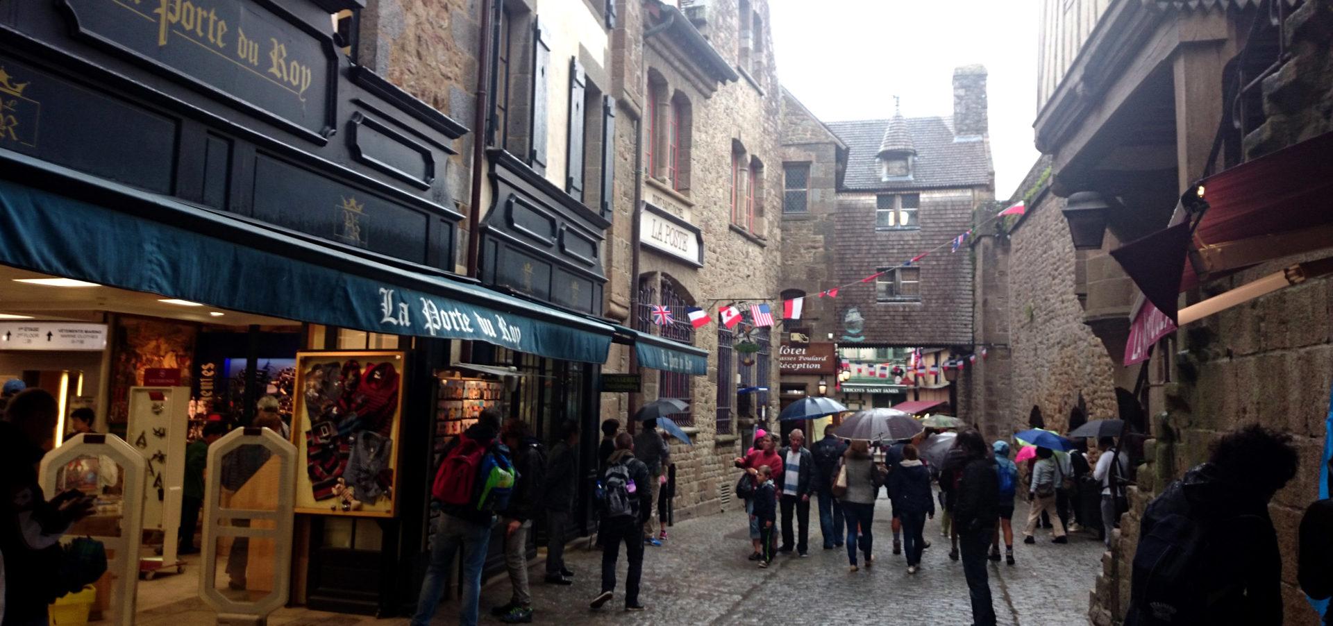grand rue mont saint michel normandia
