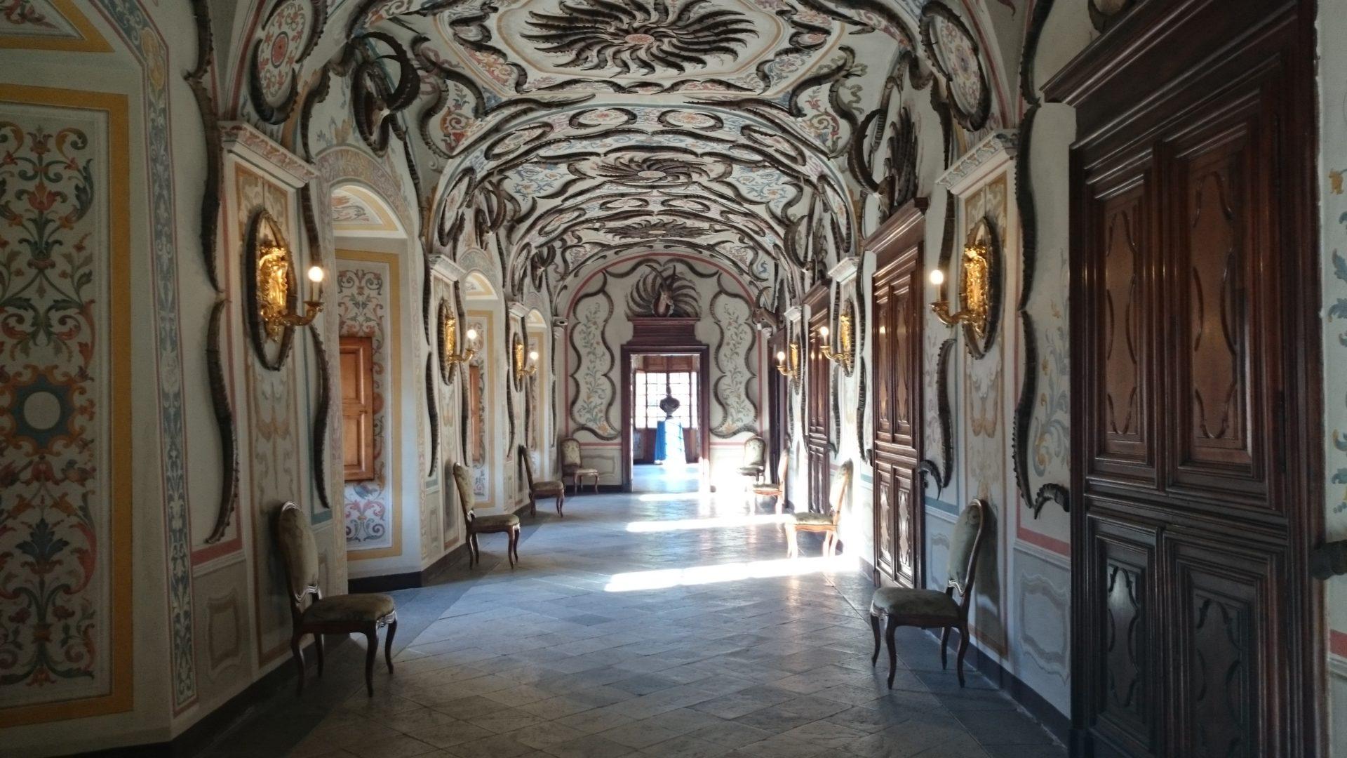 visitare castello reale di sarre aosta trofei corna