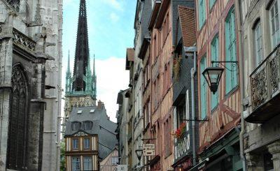 COSA VEDERE A ROUEN_itinerario a piedi_ cattedrale e centro storico