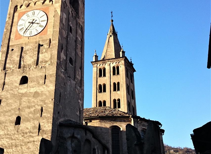 Campanili della Cattedrale di Aosta: cosa vedere