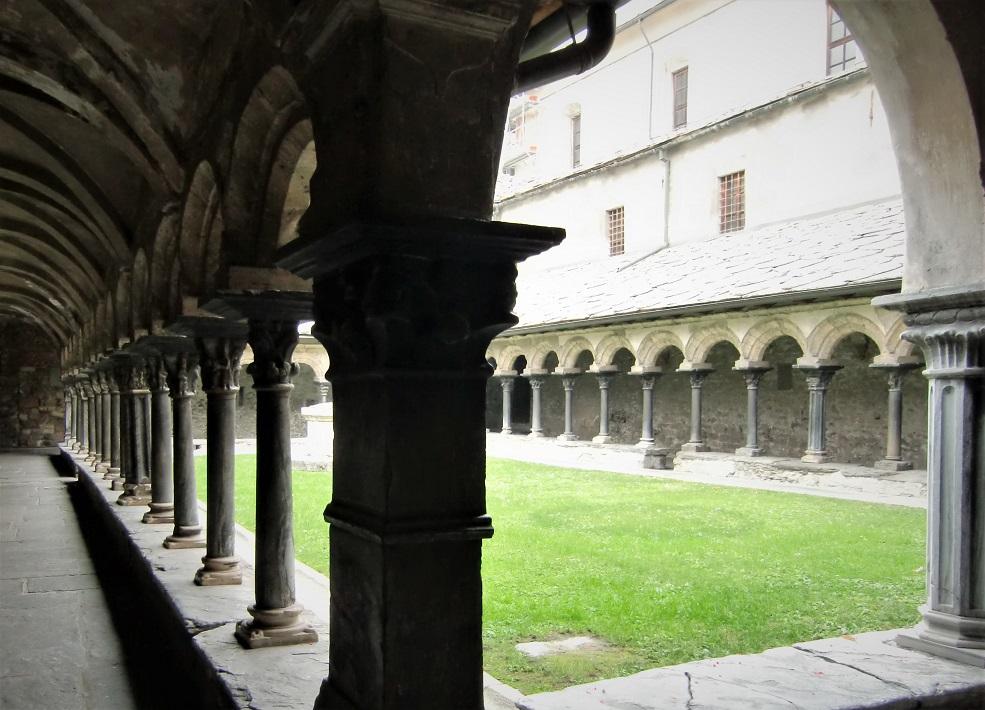 Chiostro della Collegiata di Sant'Orso ad Aosta
