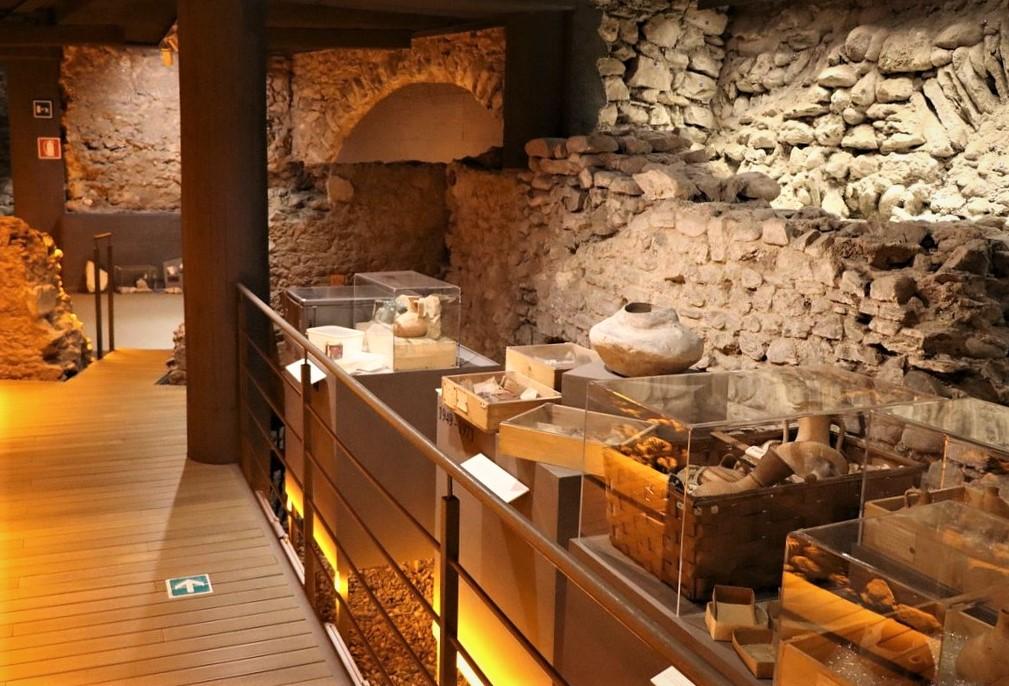 Una sala del Museo Archeologico Regionale