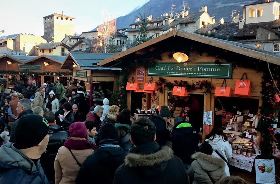 Mercatino di Natale di Aosta