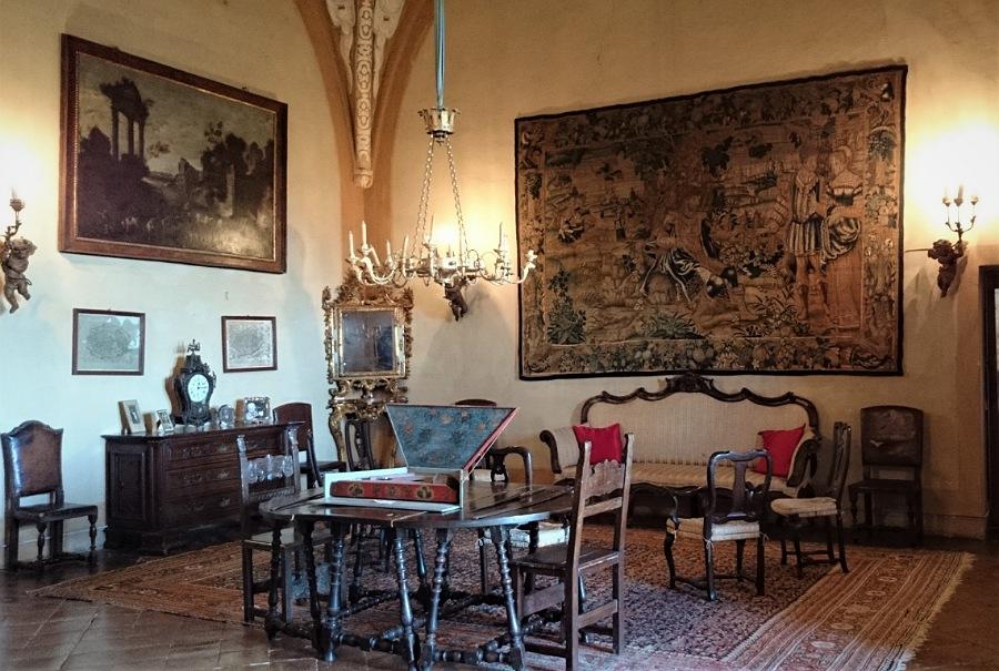 interni del Castello di Montechiarugolo