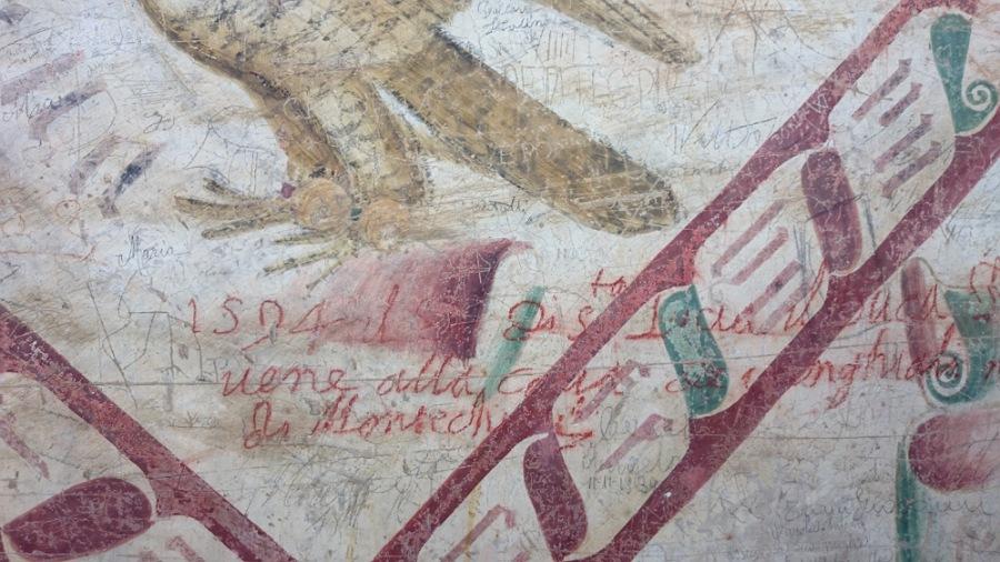 graffiti_loggiato_castello di montechiarugolo