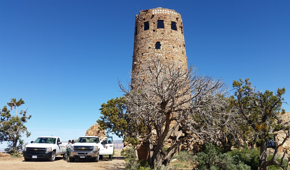 Watch Tower lungo il Kaibab Trail Route