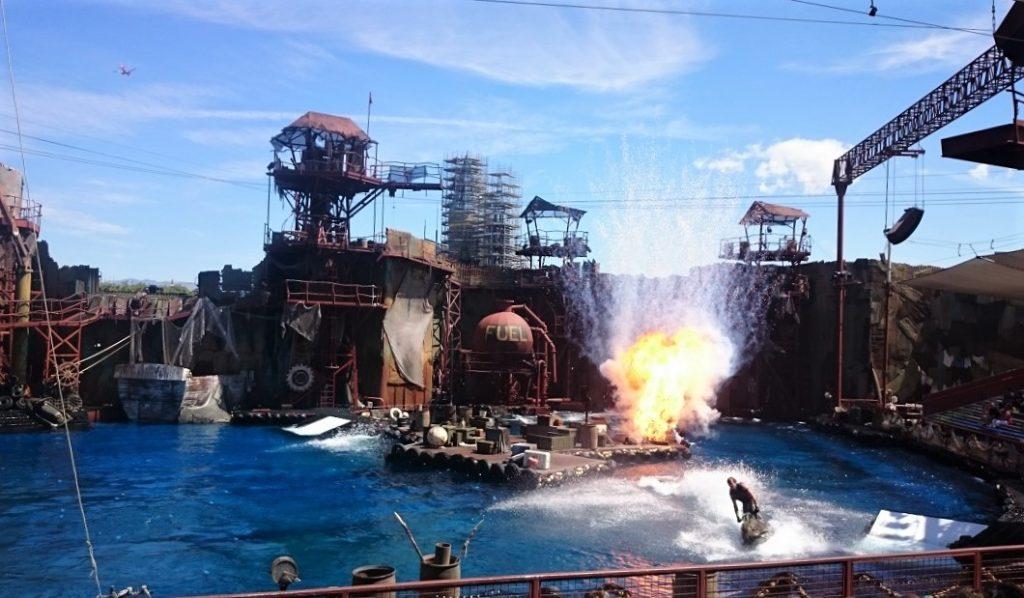 Water World uno degli spettacoli più belli degli Universal Studios