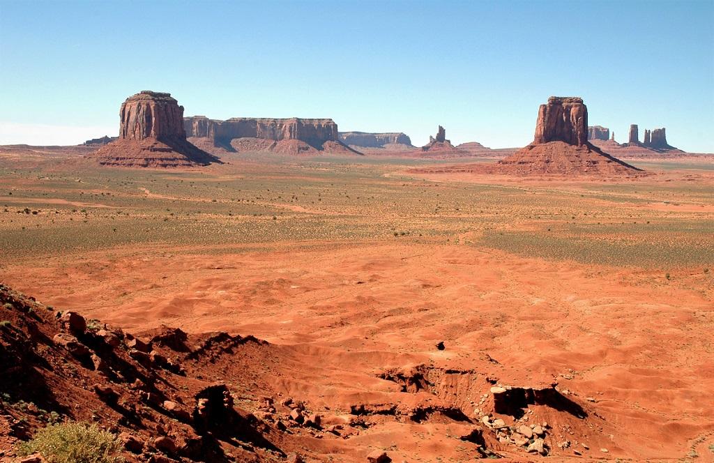 Il meraviglioso paesaggio della Monument Valley