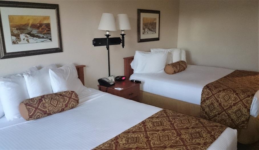 Camera di un hotel vicino al Grand Canyon