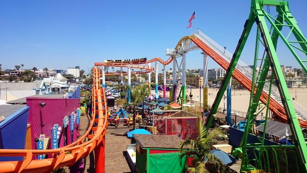 Luca Park sul Santa Monica Pier